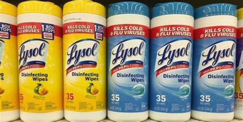 $1.50 in New Lysol Coupons - $0.49 at Stop & Shop, $0.79