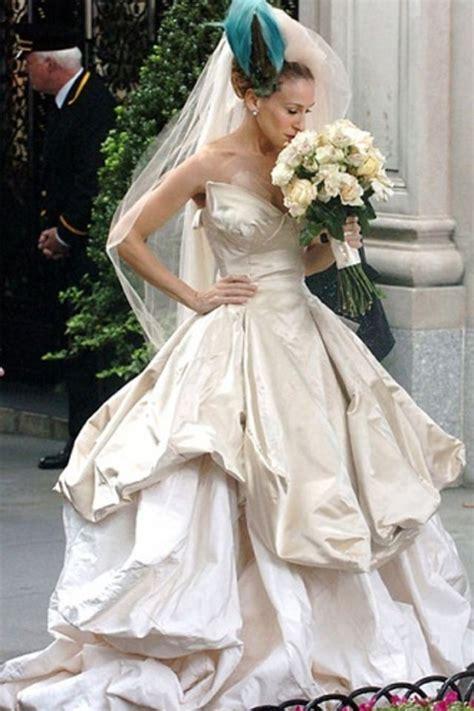 top  celebrity wedding dresses  movies  tv
