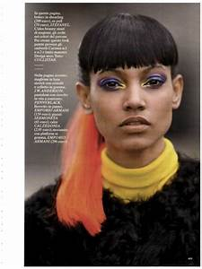 trendhunter com rainbow ponytail shoots the ariel meredith