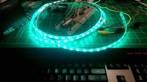 arduino led audio visualizer
