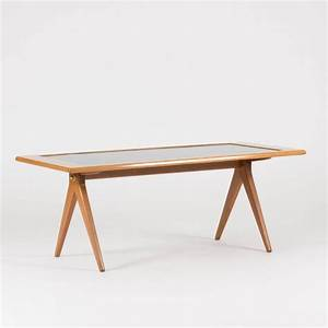 oak and enamel coffee table by stig lindberg for sale at With enamel coffee table