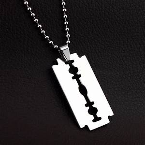 why do ppl wear razor blade necklaces ign boards