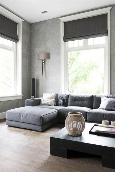 idee deco salon canapé gris revger com idee deco salon noir blanc et gris idée