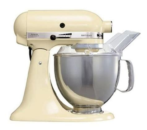 cuisine aid buy kitchenaid 5ksm150psbac artisan stand mixer almond free delivery currys
