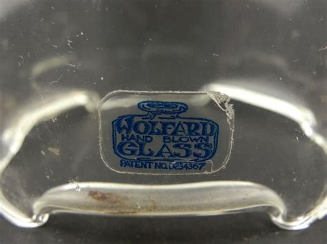 pair of wolfard hand blown glass oil lanterns ls
