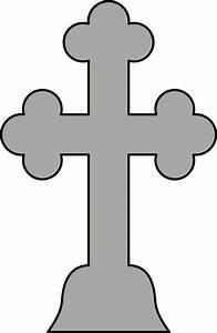 Gray Cross - ClipArt Best