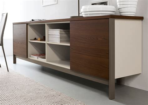 Open Sideboard by Calligaris Factory Sideboard Open Compartment