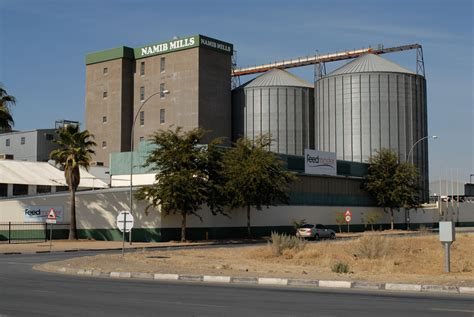 Namib Mills, Windhoek Namibia   Grain silo at Namib Mills