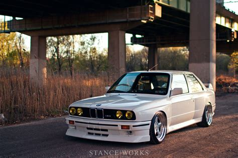 bmw e30 stance works george voutsinos 39 s bmw e30 m3