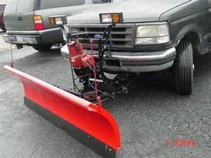 7 U0026 39 6 U0026quot  Western Unimuont Installed On F250 Plow   3403