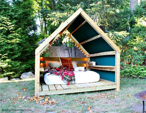 Ana White  Outdoor Cabana Backyard Retreat  Diy Projects