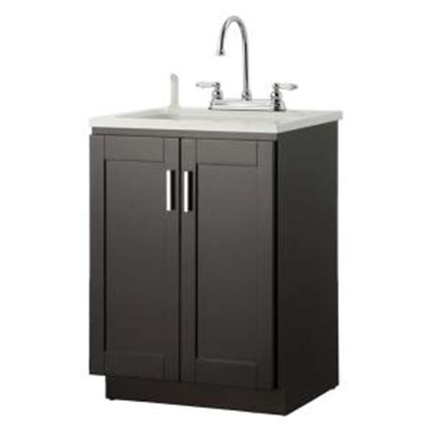 foremost palmero 24 in laundry vanity in espresso and abs