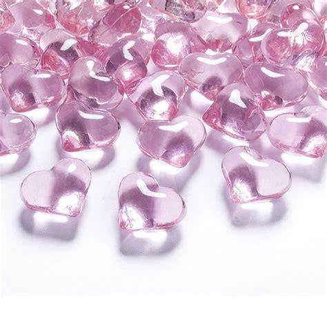 deko herzen hochzeit rosa deko herzen acryl hochzeit