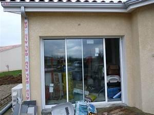baie vitree remplacement porte de garage wasuk With porte de garage coulissante de plus porte vitrée
