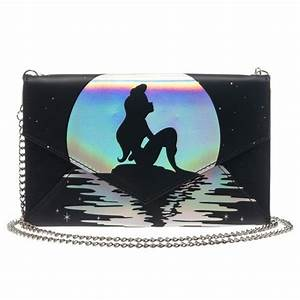 Disney Little Mermaid Ariel Envelope Wallet with Chain bolsas Pinterest Bolsos