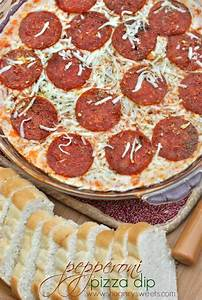 Pepperoni Pizza Dip - Shugary Sweets