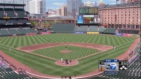 white sox  orioles isnt   empty stadium game