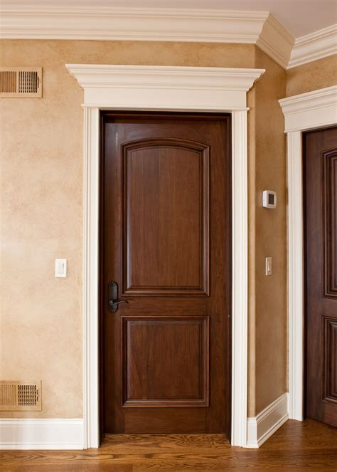 interior gates home interior door custom single solid wood with walnut