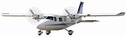 P68c Vulcanair Aircraft Engine Twin Gear Landing