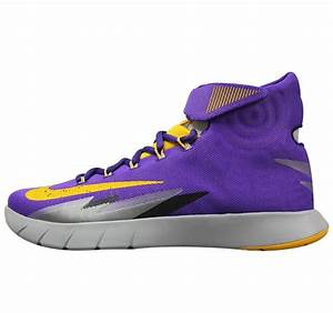 Nike Zoom HyperRev Kyrie Irving Shoes purple yellow