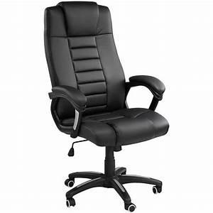 Chaise De Bureau : chaise de bureau fauteuil de bureau si ge de bureau hauteur r glable pivotante tectake ~ Teatrodelosmanantiales.com Idées de Décoration