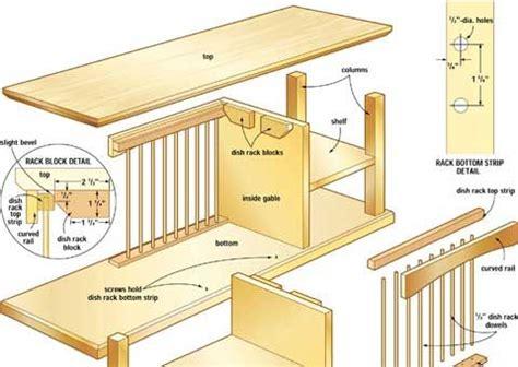 build   plate rack plate racks diy plate rack diy storage