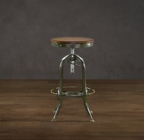 kitchen island table with stools vintage toledo barstool antiqued green from kitchen to