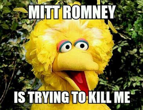 Big Bird Memes - will romney fire big bird