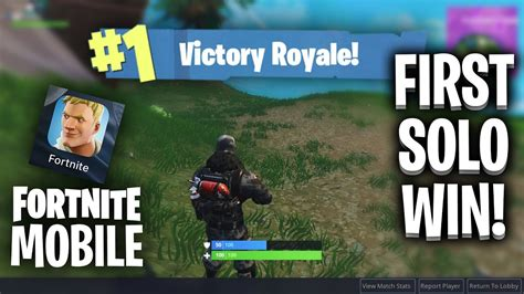 kill win scoped ar  op fortnite mobile p