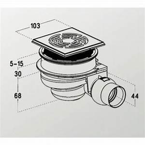 Bonde Receveur A Carreler : receveur pr t carreler avec siphon de sol 120x90 cm ~ Premium-room.com Idées de Décoration