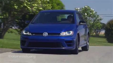 Golf R Road Test by Motorweek Road Test 2015 Volkswagen Golf R