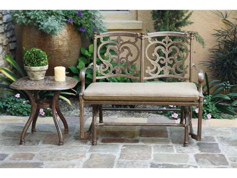 Darlee Patio Furniture Quality by Darlee Outdoor Living Santa Barbara Cast Aluminum Glider