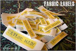 fabric labels taylormade With fabric made by labels