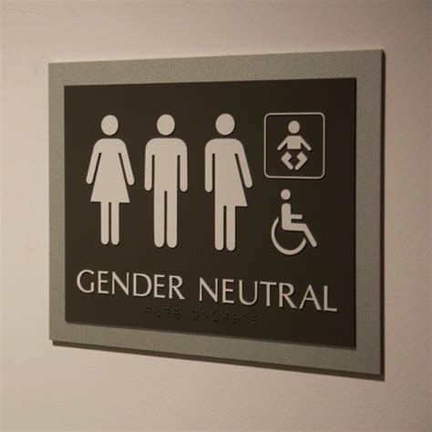 Genderneutral Bathrooms Code Conflicts?