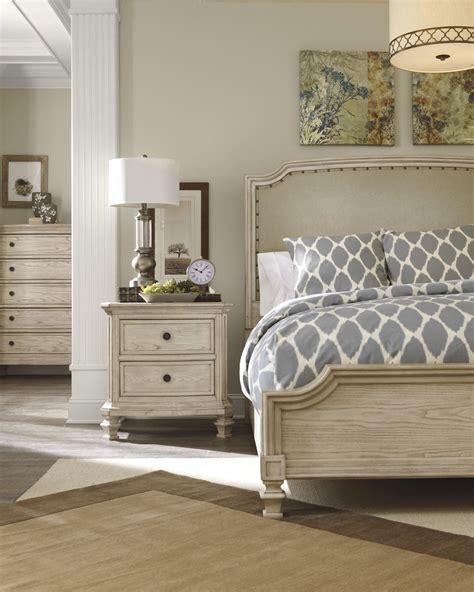 demarlos cal king upholstered panel bed  ashley