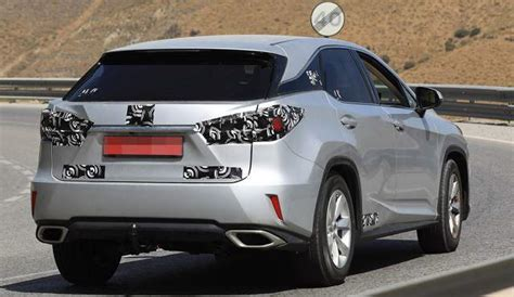 2019 Lexus Rx 350 Redesign, Changes And First Spy Photos