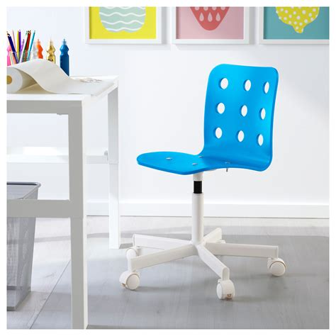 ikea desk and chair jules children 39 s desk chair blue white ikea