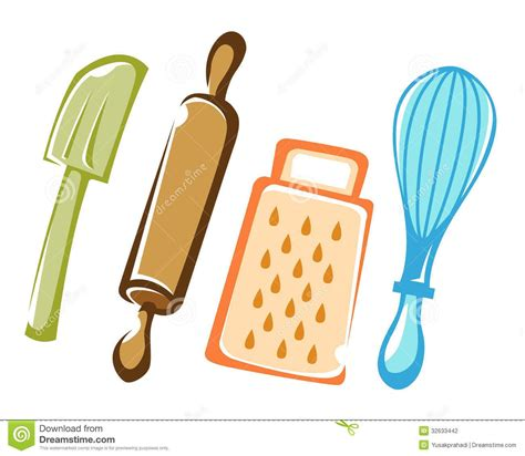cooking  baking kitchen tools stock photography image