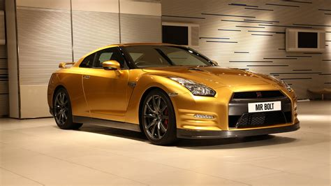 Nissan Gt R Gold Wallpaper Hd Car Wallpapers