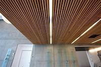 ceiling wood panels Ceiling tiles with wood effect DINESEN CEILING by Dinesen