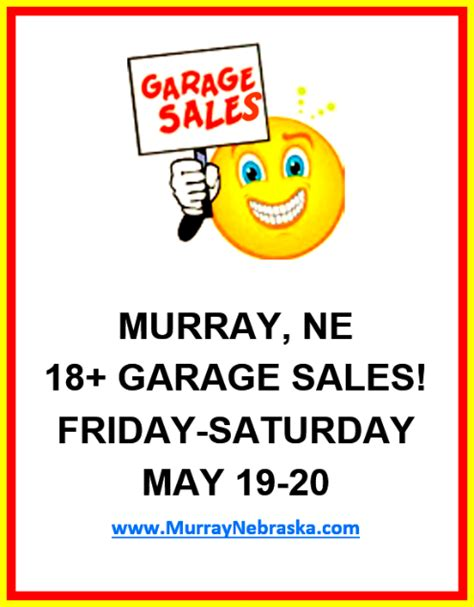 nebraska garage sales thank you for helping to make this vision possible