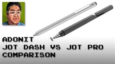 Adonit Jot Dash Vs Adonit Jot Pro On Ipad Air 2, Samsung