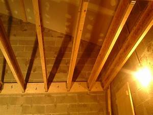 Faire Un Plancher Bois : am nagement plancher dans un garage la r alisation ~ Dailycaller-alerts.com Idées de Décoration