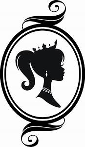 Cameo Princess Silhouette vinyl wall graphic BUY 2 GET 1