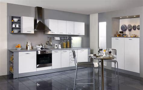 tiroirs de cuisine meuble de cuisine bas 3 tiroirs 1 casserolier blanc 40cm