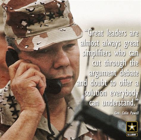 general powell quote leadership quotes school