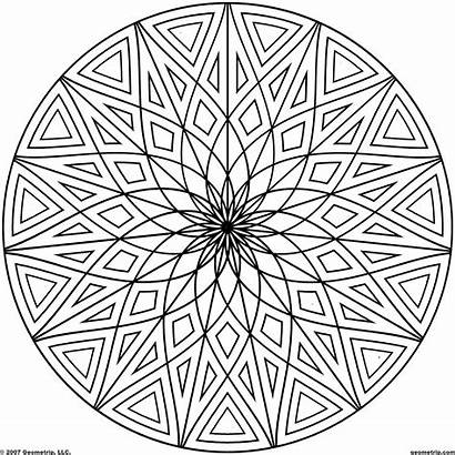 Cool Coloring Pages Patterns Designs Geometric Newdesignfile