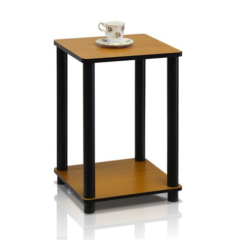end table with light furinno turn n light cherry simple end table 99800r 7056