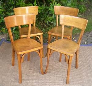 Chaise Le Bon Coin : anciennes chaises de bistrot baumann ~ Teatrodelosmanantiales.com Idées de Décoration