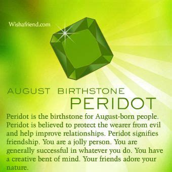 august birthstone meaning - Google Search (With images ...